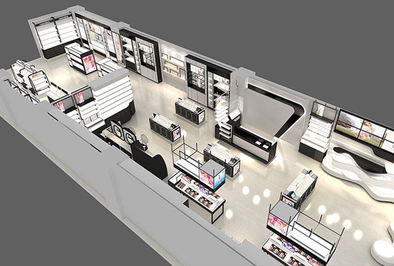 Cosmetics Store Furniture