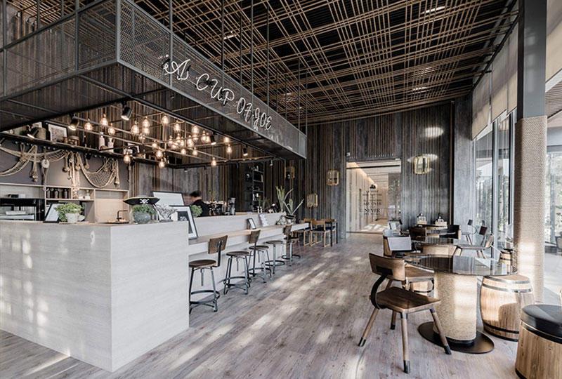 Cafe Counter Bar