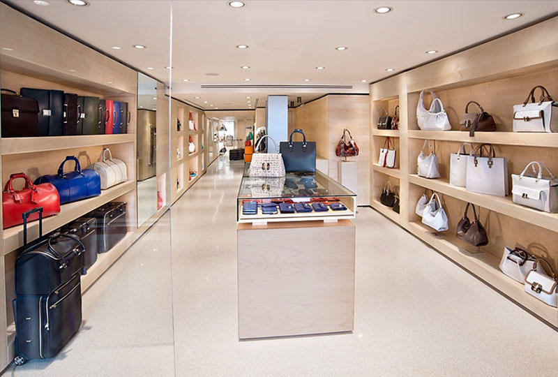Bags Shop Interior Design
