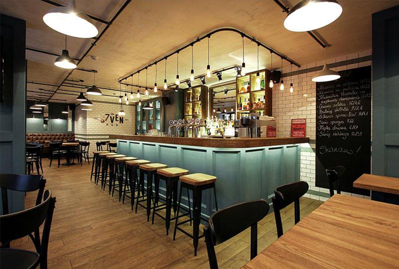 Coffee Shop Counter Design