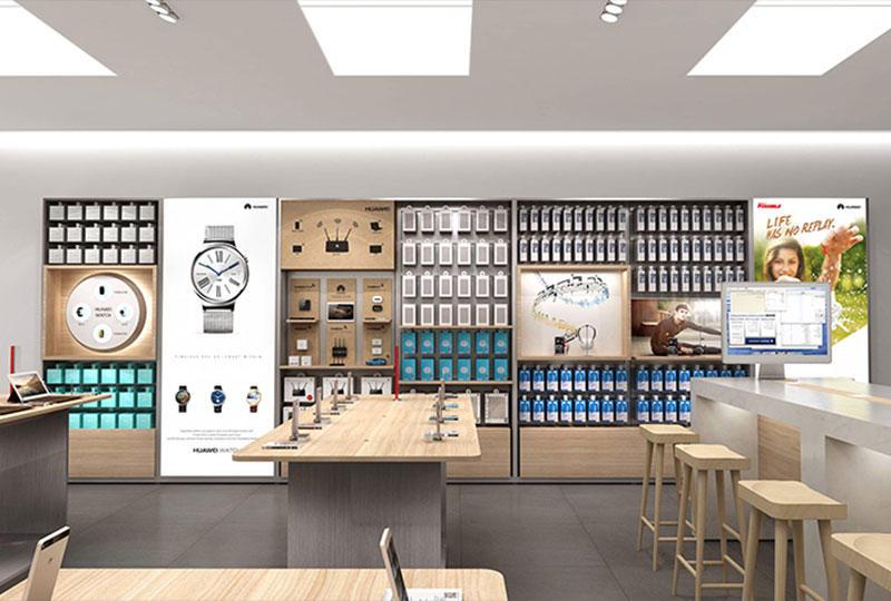 Mobile Shop Counter Design
