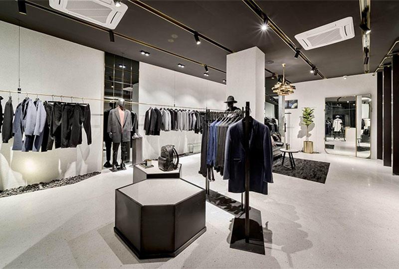 Professional Men S Clothing Shop Interior Design Supplier