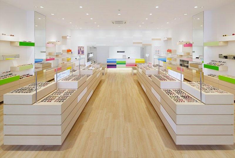 Warm Colorful Design Optical Shop