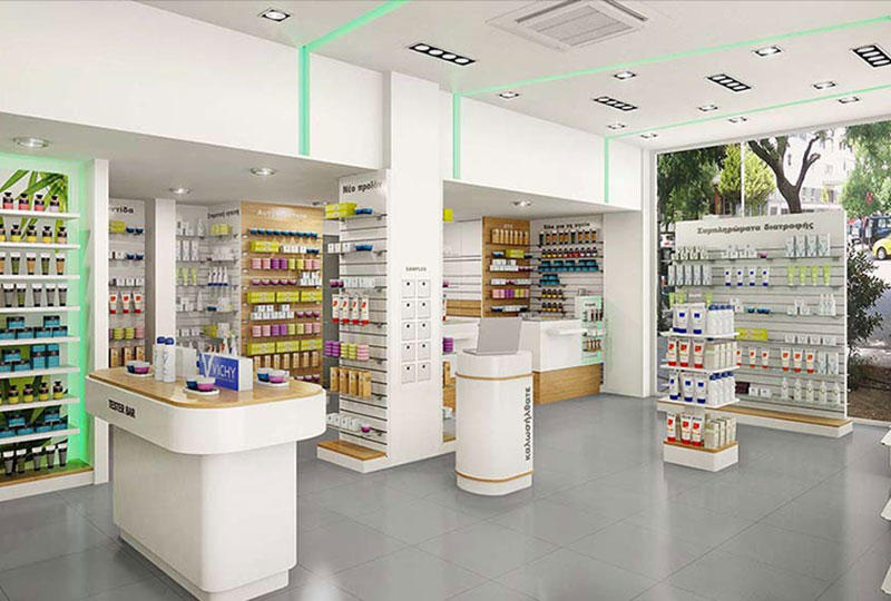 Pharmacy Shop Display