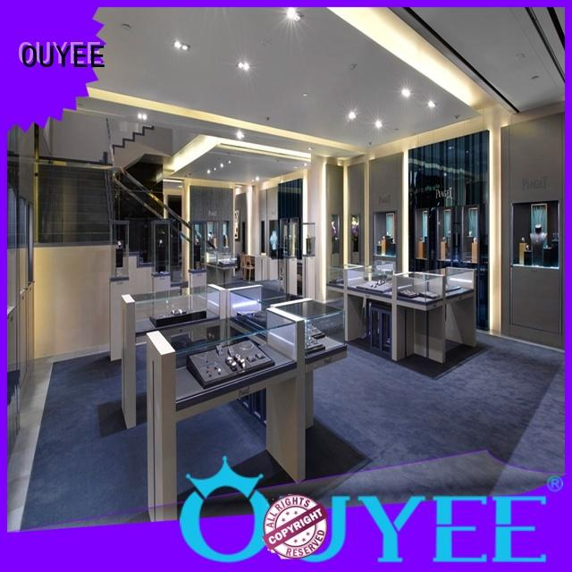 custom watch cabinet low-cost for store OUYEE