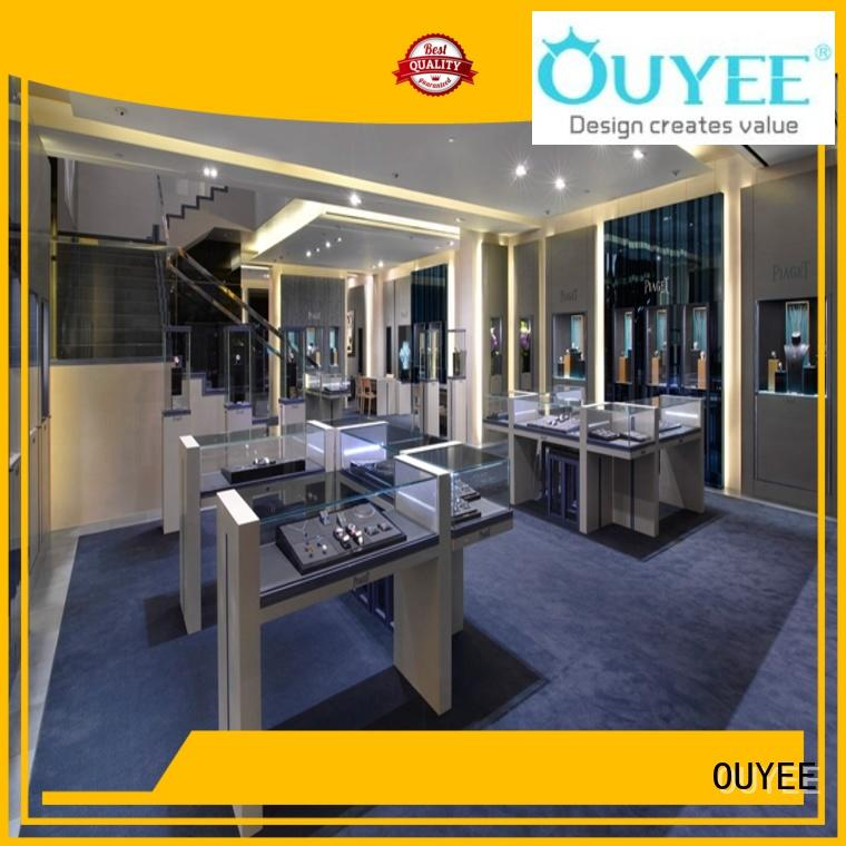 OUYEE custom jewellery showroom ceiling design ODM for shop