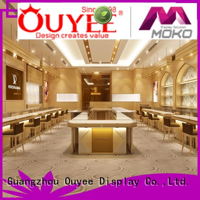 OUYEE funky large watch display case ODM for shop