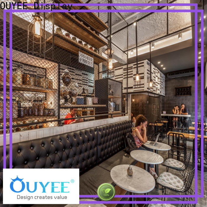 custom coffee shop layout design commercial factory price for bar