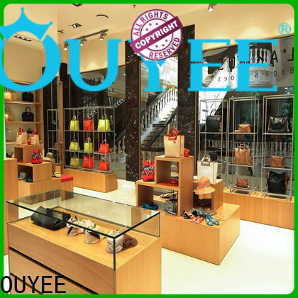 OUYEE high-quality wooden shoe shelf factory for business