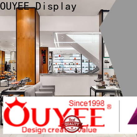 OUYEE free delivery sneaker display for store