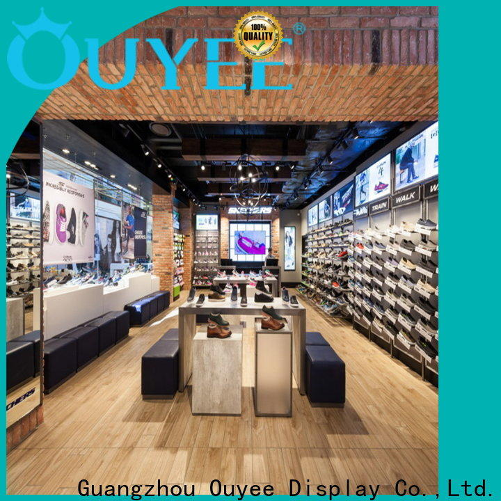 one-stop shoes display racks high-end manufacturer for chain shop